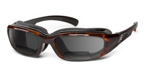 Churada | Bifocal - 7eye by Panoptx - Motorcycle Sunglasses - Dry Eye Eyewear - Prescription Safety Glasses