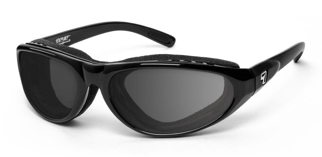 Cyclone - Rx - 7eye by Panoptx - Motorcycle Sunglasses - Dry Eye Eyewear - Prescription Safety Glasses