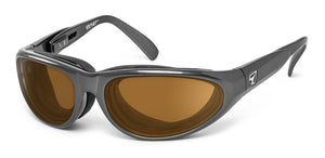 Diablo | RX - 7eye by Panoptx - Motorcycle Sunglasses - Dry Eye Eyewear - Prescription Safety Glasses