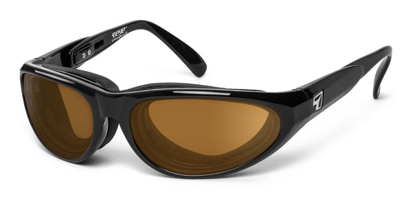 Diablo - 7eye by Panoptx - Motorcycle Sunglasses - Dry Eye Eyewear - Prescription Safety Glasses