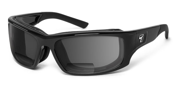 Panhead | Bifocal - 7eye by Panoptx - Motorcycle Sunglasses - Dry Eye Eyewear - Prescription Safety Glasses