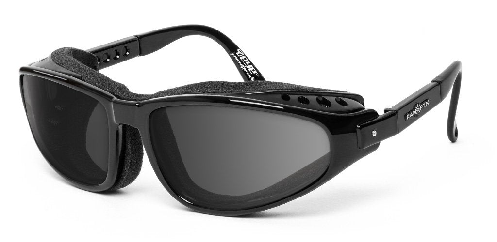 Raptor - Rx - 7eye by Panoptx - Motorcycle Sunglasses - Dry Eye Eyewear - Prescription Safety Glasses
