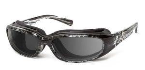 Sierra | RX - 7eye by Panoptx - Motorcycle Sunglasses - Dry Eye Eyewear - Prescription Safety Glasses