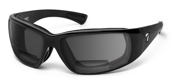 Taku Plus | Bifocal Lens - 7eye by Panoptx - Motorcycle Sunglasses - Dry Eye Eyewear - Prescription Safety Glasses