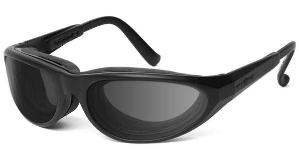 Warrior | RX - 7eye by Panoptx - Motorcycle Sunglasses - Dry Eye Eyewear - Prescription Safety Glasses