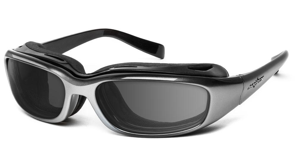 Sirocco - Rx - 7eye by Panoptx - Motorcycle Sunglasses - Dry Eye Eyewear - Prescription Safety Glasses
