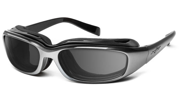 Sirocco | RX - 7eye by Panoptx - Motorcycle Sunglasses - Dry Eye Eyewear - Prescription Safety Glasses
