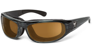 Whirlwind | RX - 7eye by Panoptx - Motorcycle Sunglasses - Dry Eye Eyewear - Prescription Safety Glasses