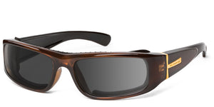 Typhoon | RX - 7eye by Panoptx - Motorcycle Sunglasses - Dry Eye Eyewear - Prescription Safety Glasses