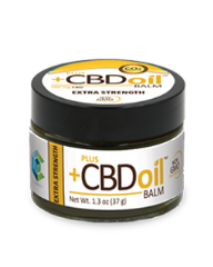 PlusCBD Oil Extra Strength Balm (100mg CBD) - US Hemp Oils