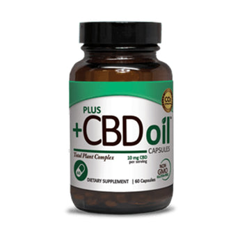 Plus CBD Oil™ Hemp CBD Oil CAPSULES - US Hemp Oils