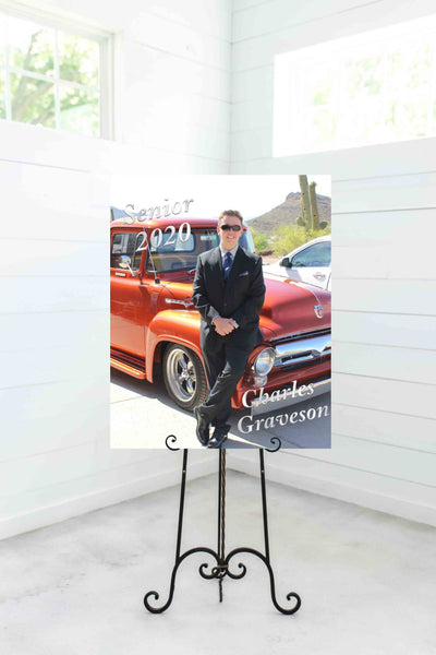 Graduation Photo or Photo of your choice Rigid PVC Board - Printed or File