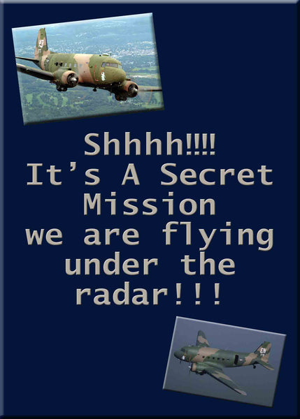 Air Force Military USAF Birthday Party Secret Mission Invitation with Plane