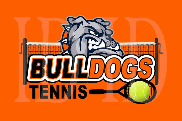 Custom Order - La Porte High School Tennis Team Banner Banners - 1 Business banners for 2020-2021