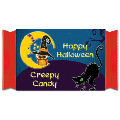 Halloween Cat and Owl Kit Kat 1.5oz (42g) Label Wrappers - Instant Printable - Invites and Delites