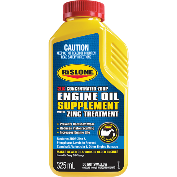 RISLONE ENGINE OIL SUPPLEMENT W/ZINC 325ML Code: 44405