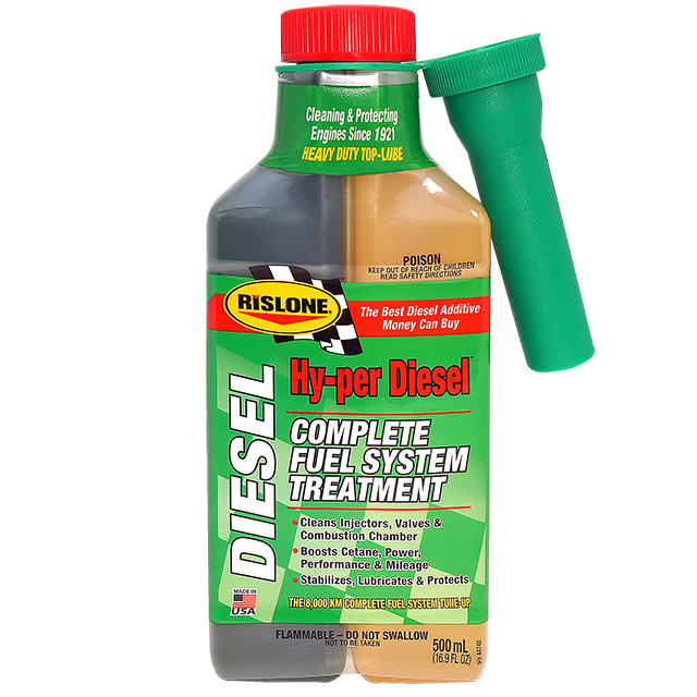 RISLONE COMPLETE DIESEL FUEL SYSTEM TREATMENT 500ML     Code: 44740