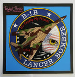 B-1B Lancer Bomber, Military Plane Embroidered Patch