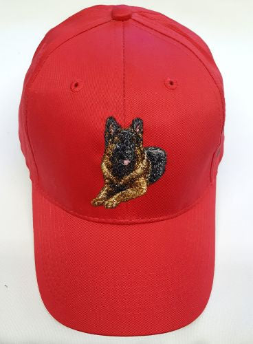 German Shepherd Dog, Embroidered Hat
