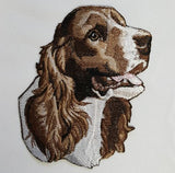 Springer Spaniel Embroidered Patch