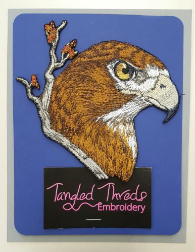 "Red-Tailed Hawk, Embroidered Patch 5.2"" x 5"""