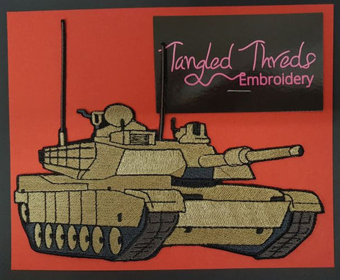 M1 Abrams Tank Embroidered Patch FREE USA SHIPPING