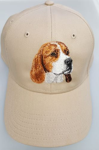 Beagle Dog Embroidered Hat