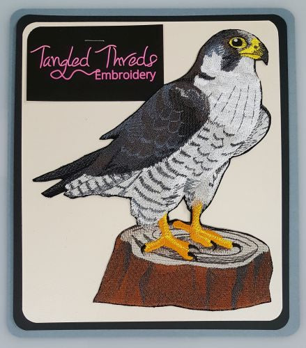 Peregrine, Falconer, Falconry, Birds of Prey, Embroidered Patch