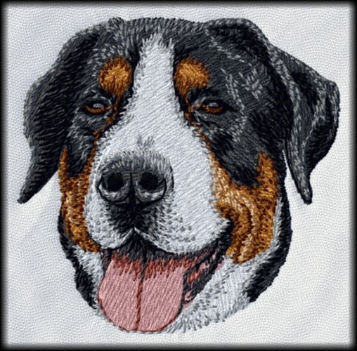 Swiss Mountain Dog Embroidered Patch