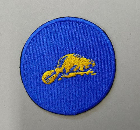 "Oregon Beaver Embroidered Patch 2.3"" x 2.3"""