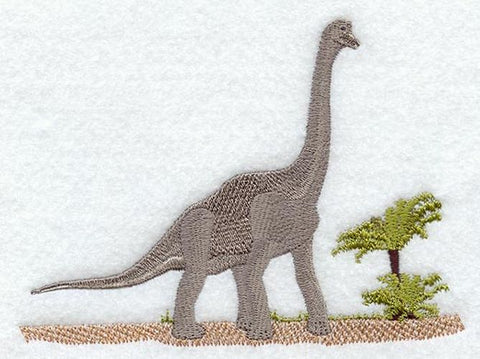 Dinosaur Brachiosaurus Embroidered Patch