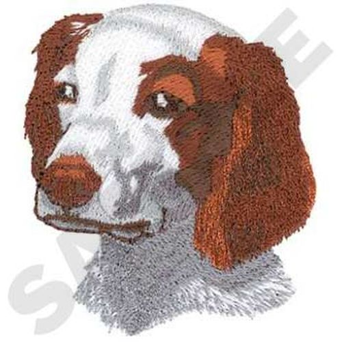 "Brittany Dog Embroidered Patch 2.1"" x 2.5"""