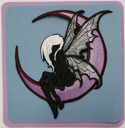 Fairy, Moon Fairy Embroidered Patch