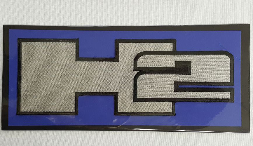 "Hummer, H2 Embroidered Patch 8.6"" x 3"""