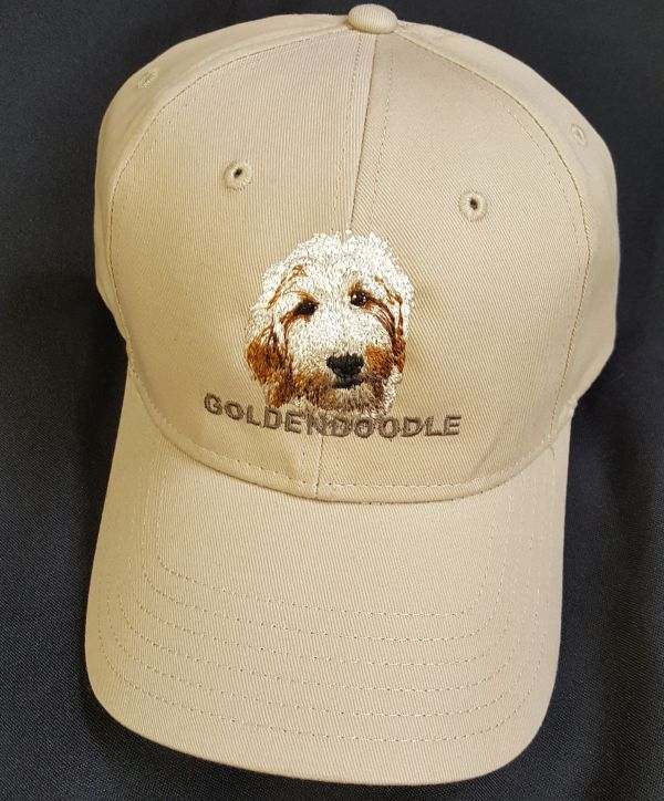 Goldendoodle Dog Embroidered Hat