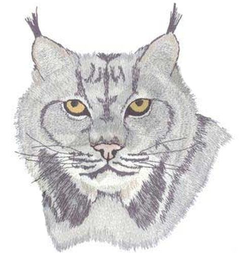 "Lynx Wildcat Emboidered Patch 6.6"" x 7.6"" FREE USA SHIPPING"