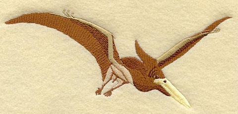 Dinosaur Pterodactyl Embroidered Patch