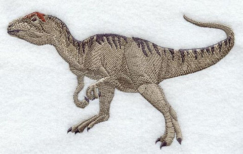 Dinosaur Allosaurus  Embroidered Patch