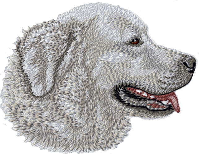 "Tatra Mountain Sheepdog Embroidered Patch 3"" tall"