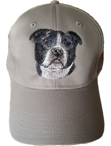 Bulldog American Embroidered Hat
