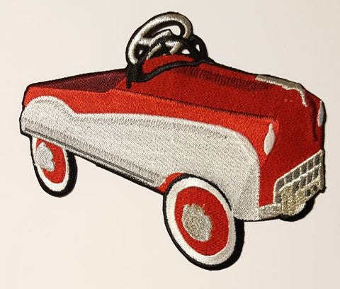 Antique Pedal Car Embroidered Patch