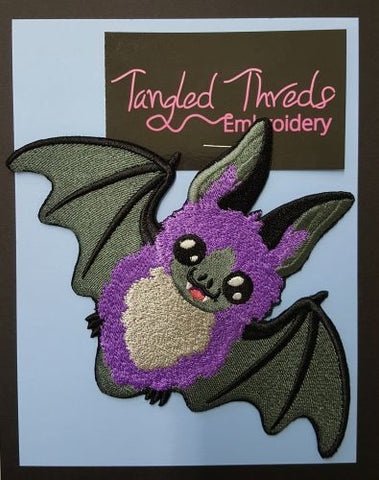Bat, Embroidered Patch