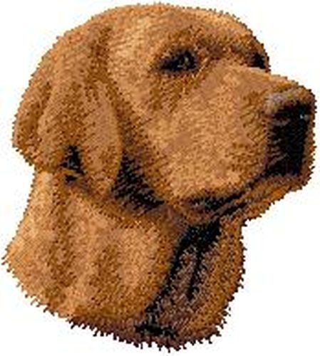 Labrador Retriever Dog Embroidered Patch 2.9""