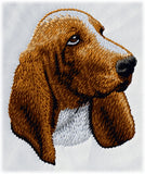 Basset Hound Dog Embroidered Hat