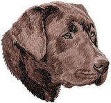 Labrador Retriever Dog (Chocolate) Embroidered Hat