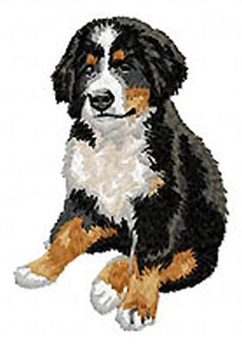 Bernese Mountain Dog Puppy (Full Body) Embroidered Hat