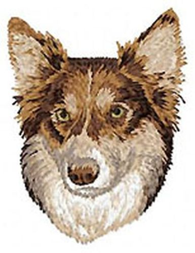 Border Collie Dog Embroidered Patch 3""