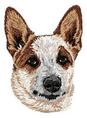 Australian Cattle Dog, Red Heeler Embroidered Patch, Free USA Shipping