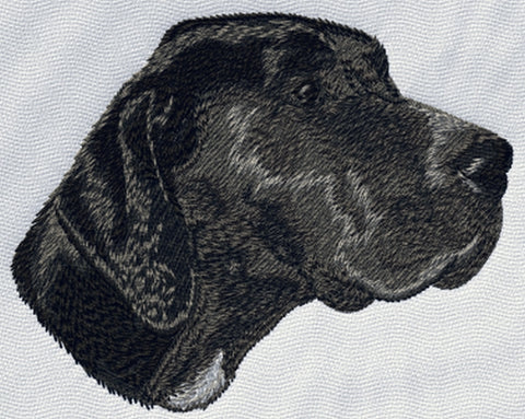 "German Shorthaired Pointer Dog Head (83) Embroidered Patch 3"" Free USA Shipping"