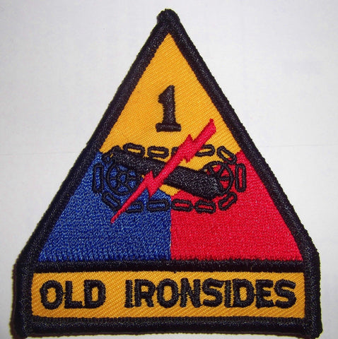 "Old Ironsides Embroidered Patch 2.3"" x 2.5:"
